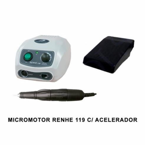 MICROMOTOR RENHE 119 CON ACELERADOR